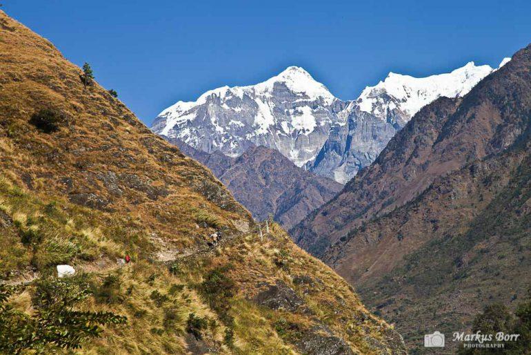 Blick Richtung Tsum Valley