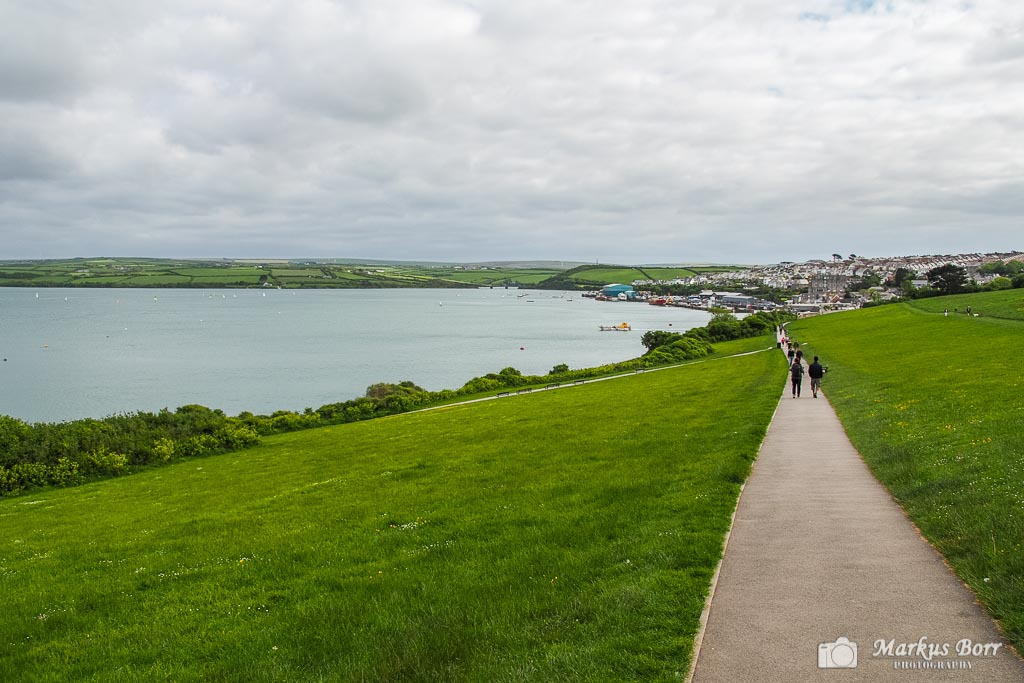 Blick auf Padstow