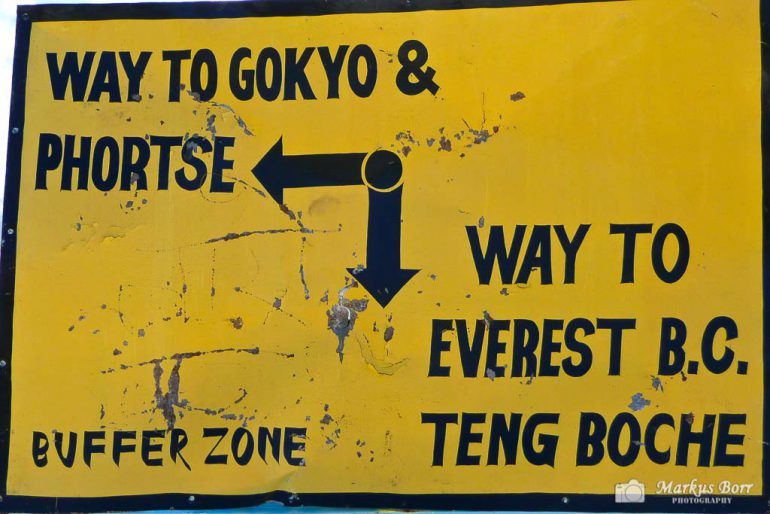 Way to Gokyo