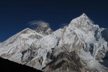 Blick auf Mt. Everest vom Kalar Patthar