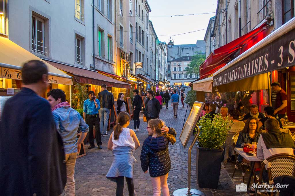 Rue des Maréchaux ist Nancy