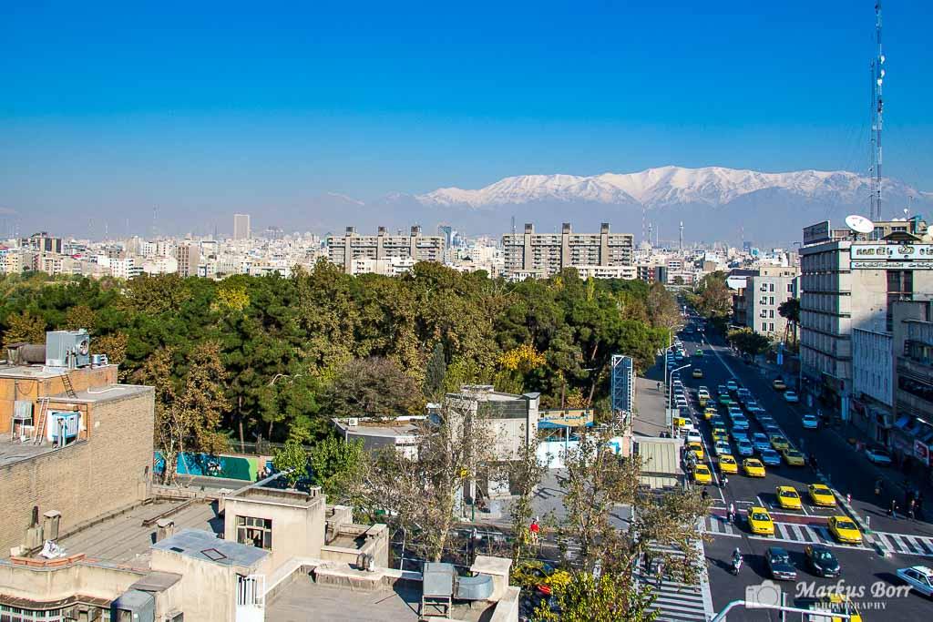 Blick auf Teheran