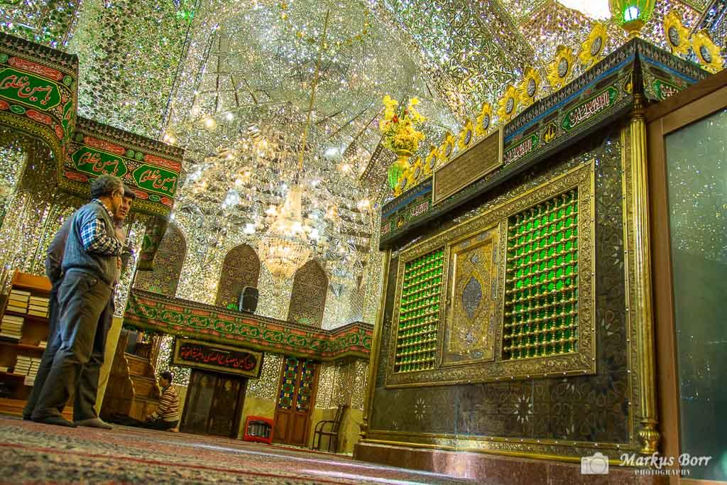 Schiraz in der Moschee