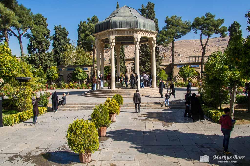 Mausoleum von Hafez in Schiraz