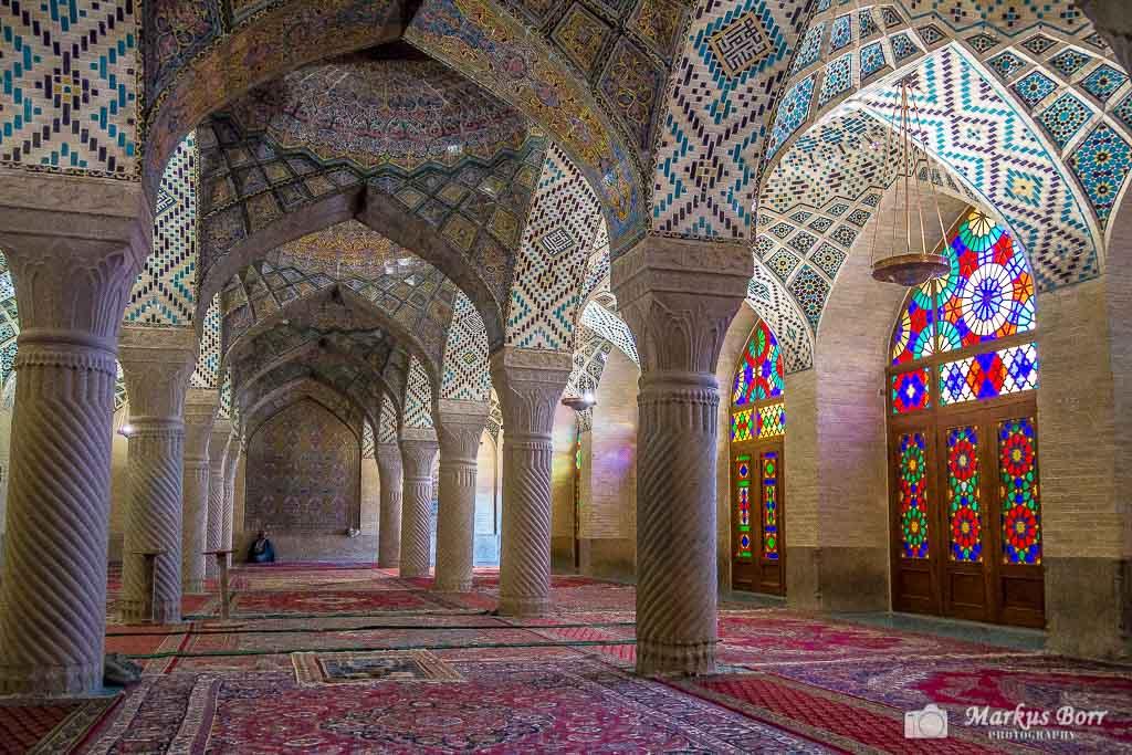 Nasir-ol-Molk Moschee in Schiras