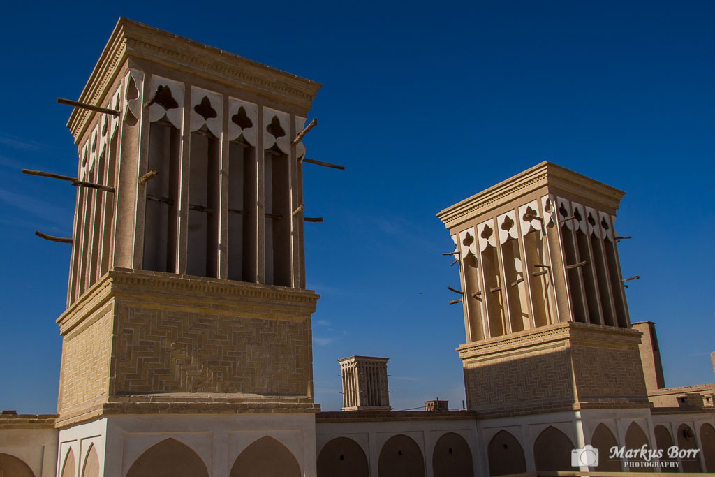 Windtürme in Yazd