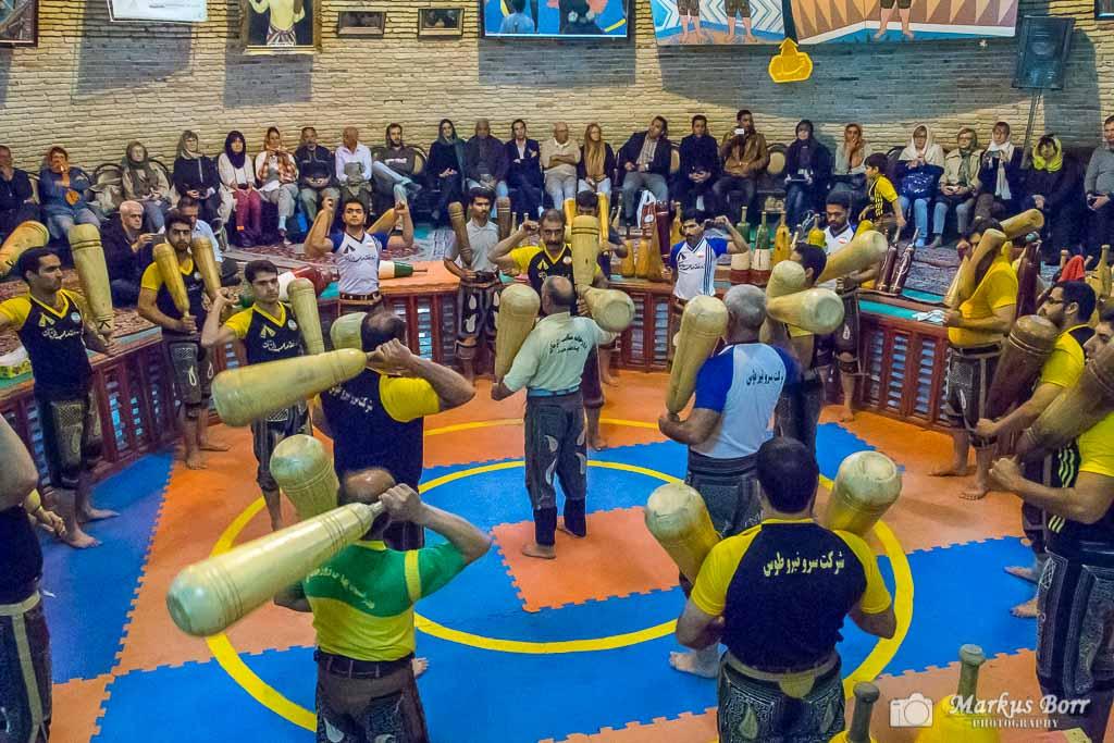 Saheb Azaman Club in Yazd