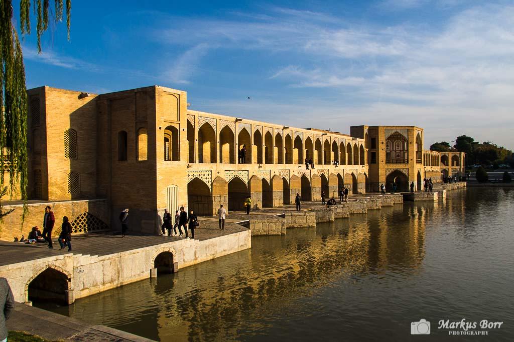 Isfahan Khaju Brücke