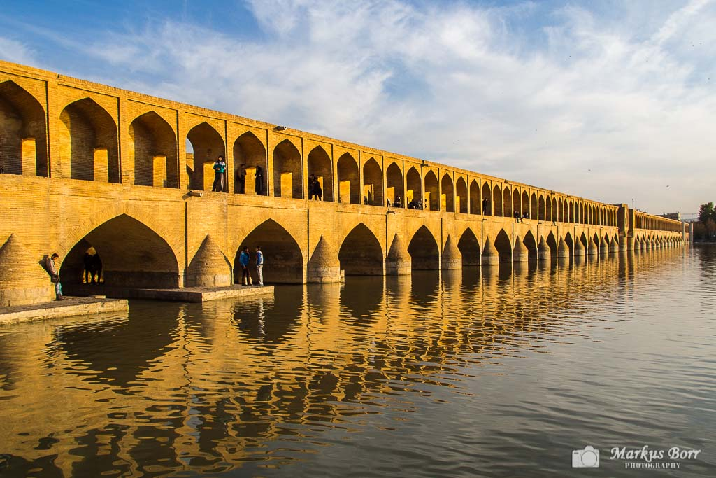 33 Bogen Brücke, Brücke, Iran, Isfahan, Si-o-seh Pol Brücke