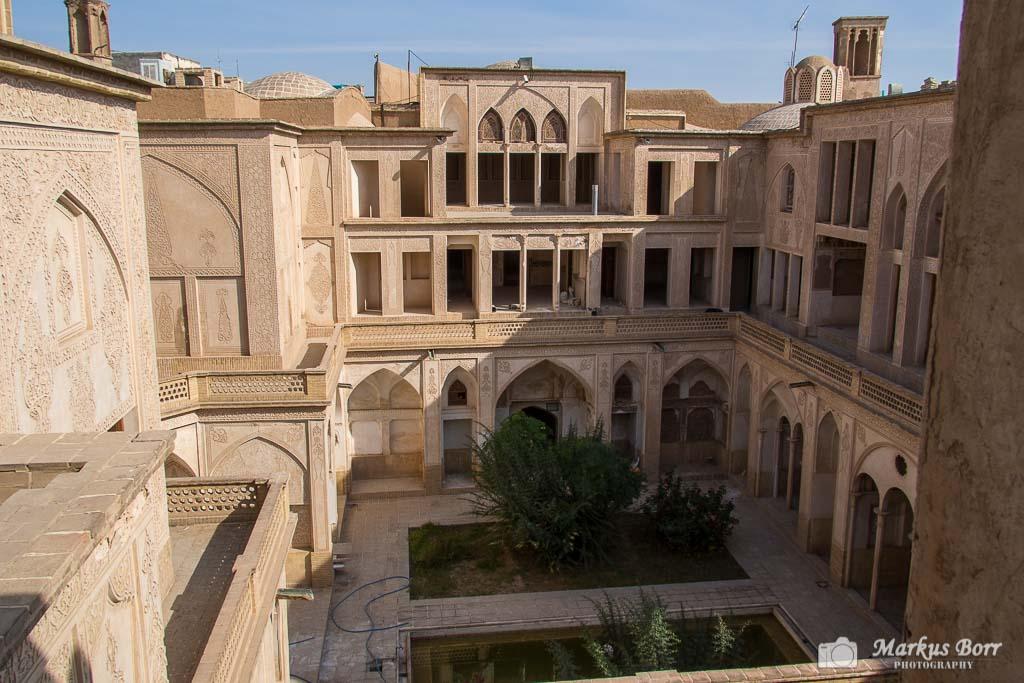 Iran, Kashan altes Herrenhaus