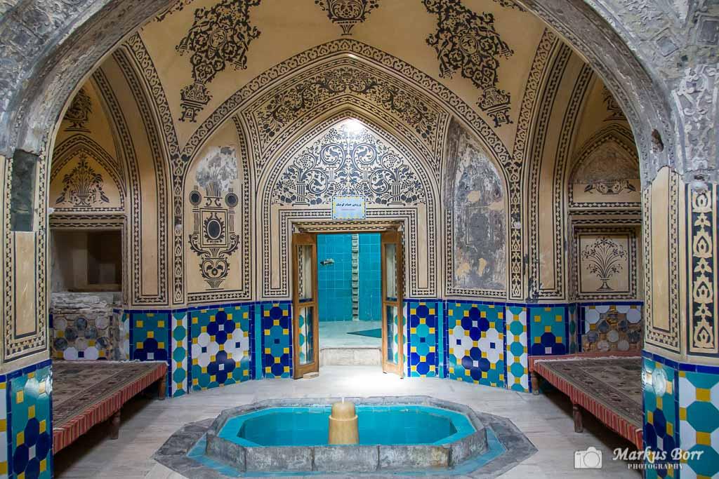 Iran, Kashan altes Bad