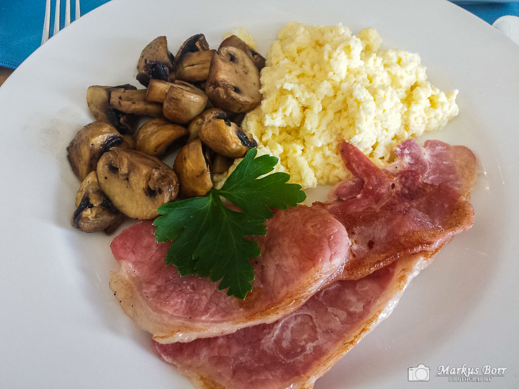 Frühstück im The Watermark B&B