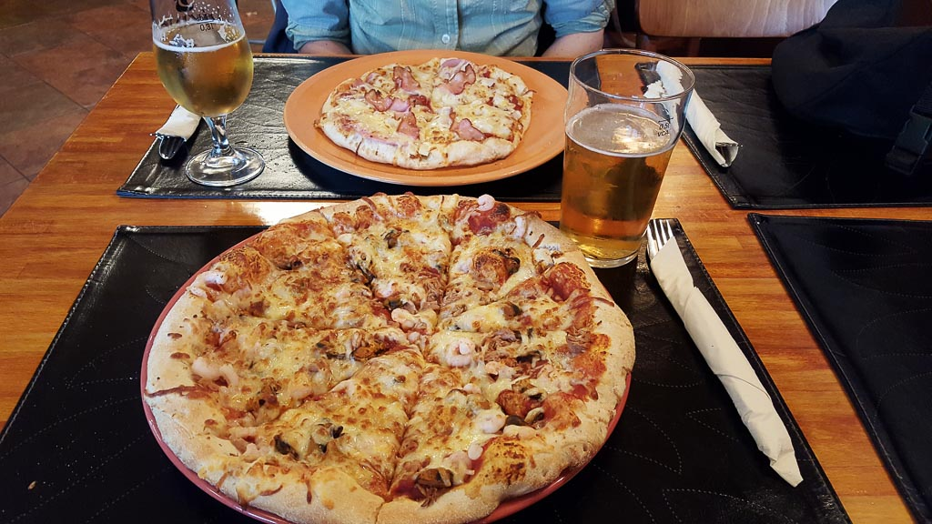 Pizza im Hofland Setrid