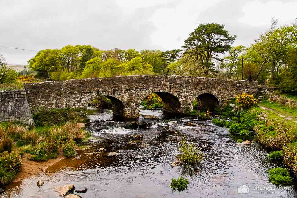 Clapper Bridge im Dartmoor