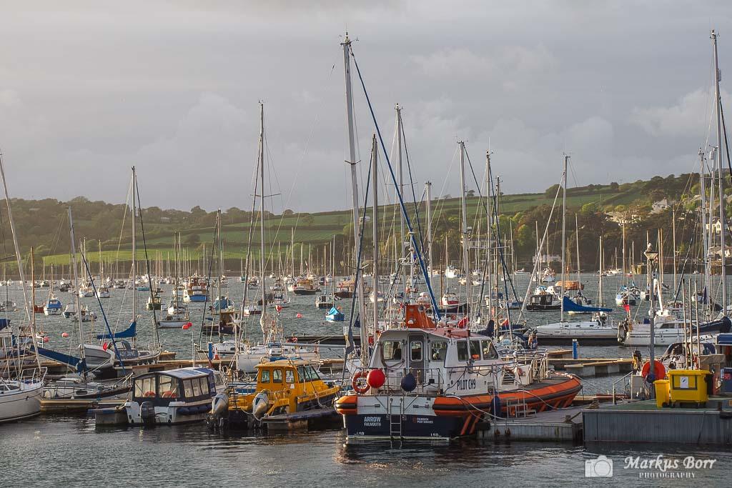 Hafen von Falmouth