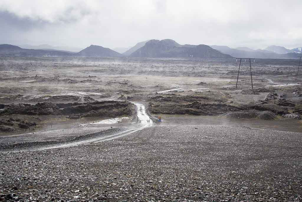Weg nach Landmannalaugar