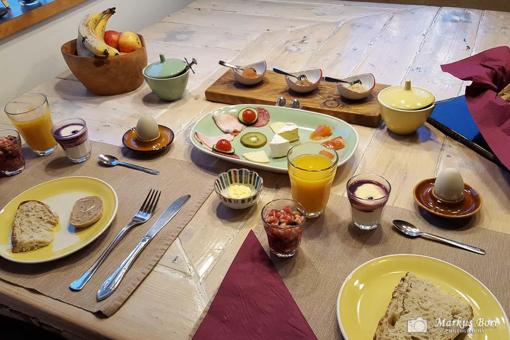 Frühstück 1x6 Guesthouse