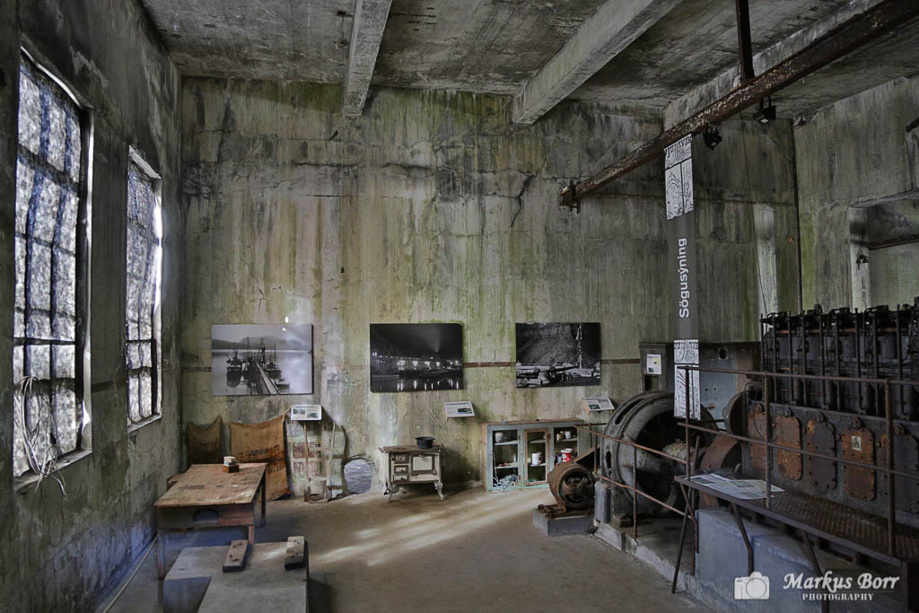 alte Fischfabrik in Djupavik