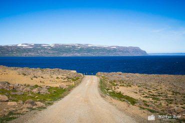 Weg in die Westfjorde