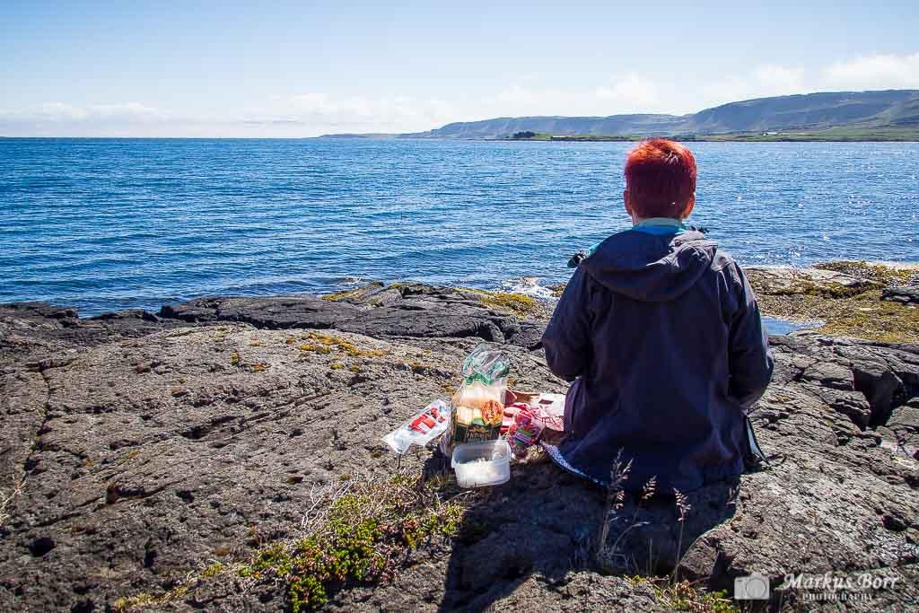 Pause in den den Westfjorden