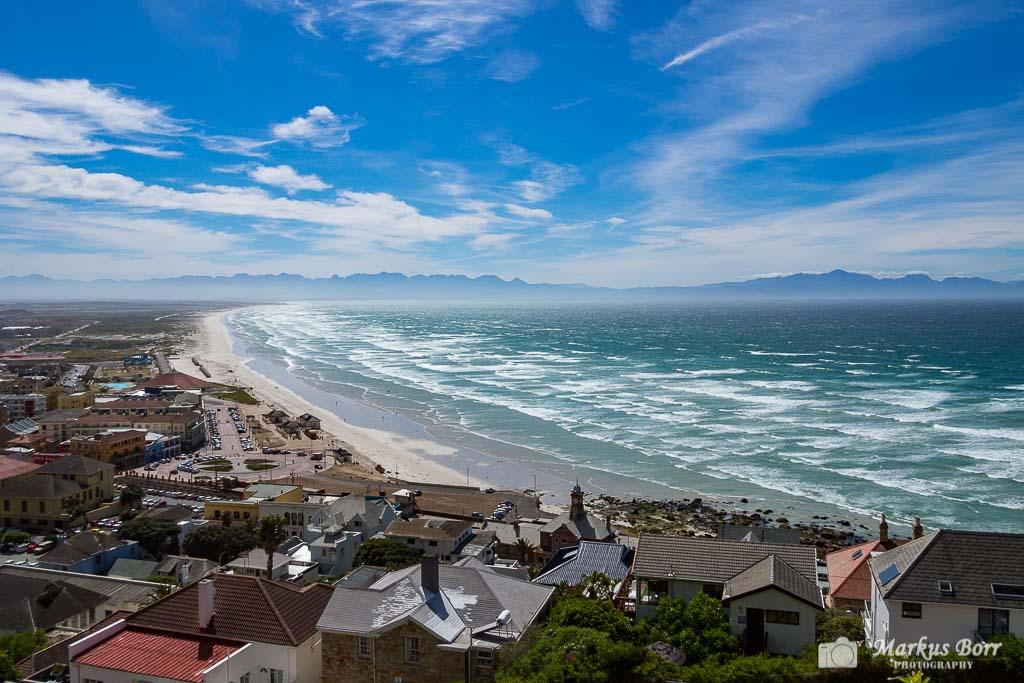 Südafrika False Bay Blick vom Boyes Drive