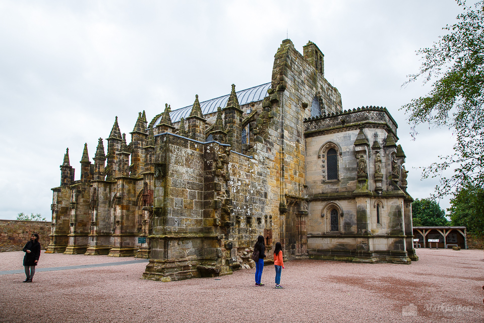 Edinburgh, Rosslyn Chapel, Schottland