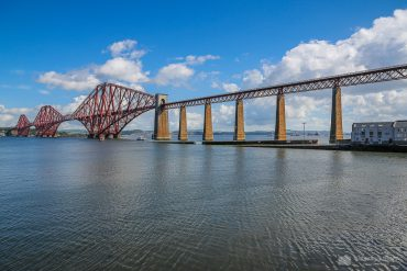 Forth Bridge, Umgebung von Edinburgh