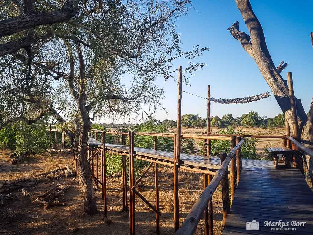 Birdhide im Mapungubwe